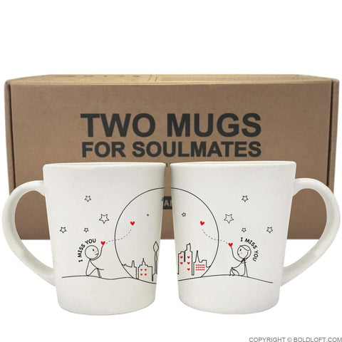 Miss Us Together™ Coffee Mugs