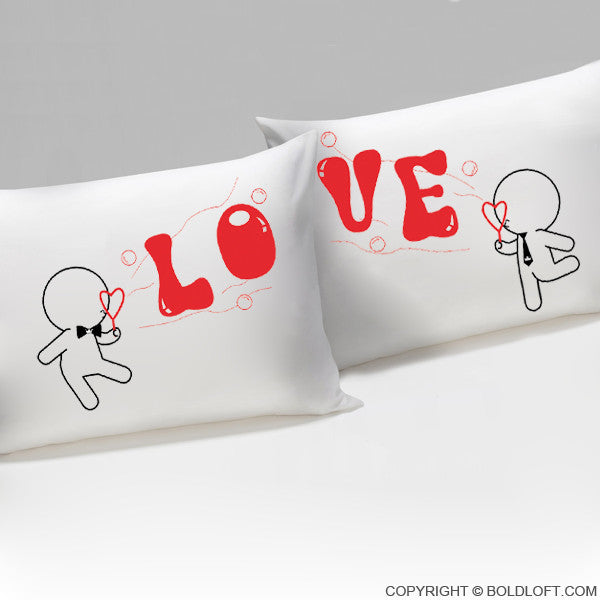 Wedding Gifts for Gay Couples-My Love is Yours™ Gay Couple Pillowcases
