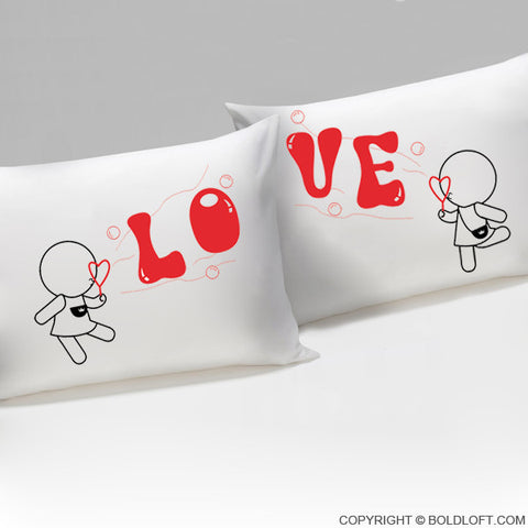 Wedding Gifts for Lesbian Couples-My Love is Yours™ Lesbian Couple Pillowcases