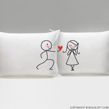 My Heart Belongs to You™ Pillowcases