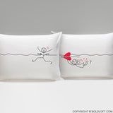My Heart is After You™ Pillowcases
