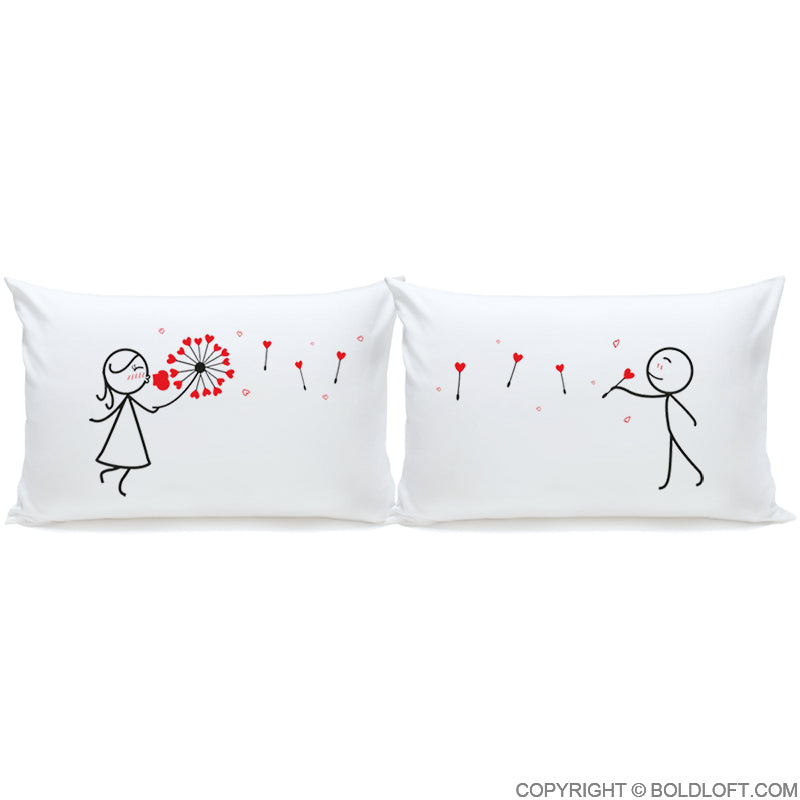My Heart is All Yours™ Couple Pillowcase Set