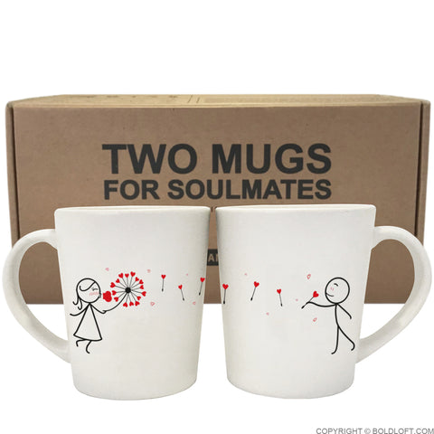 My Heart is All Yours™ Couple Coffee Mugs