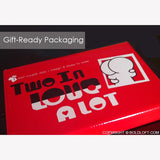 BoldLoft Couple Pillowcases Gift Ready Packaging