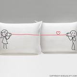 BoldLoft Say I Love You Too His and Hers Pillowcases