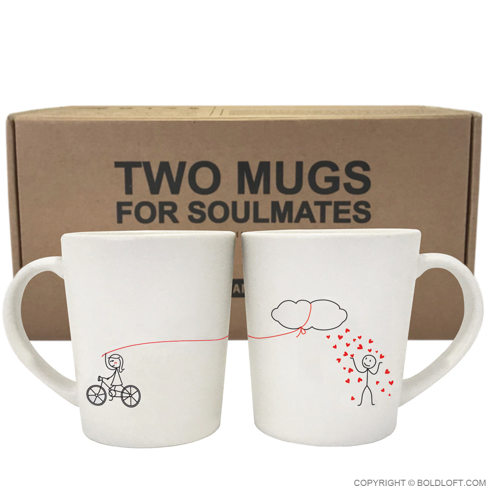 Shower You with My Love™ Couple Coffee Mugs