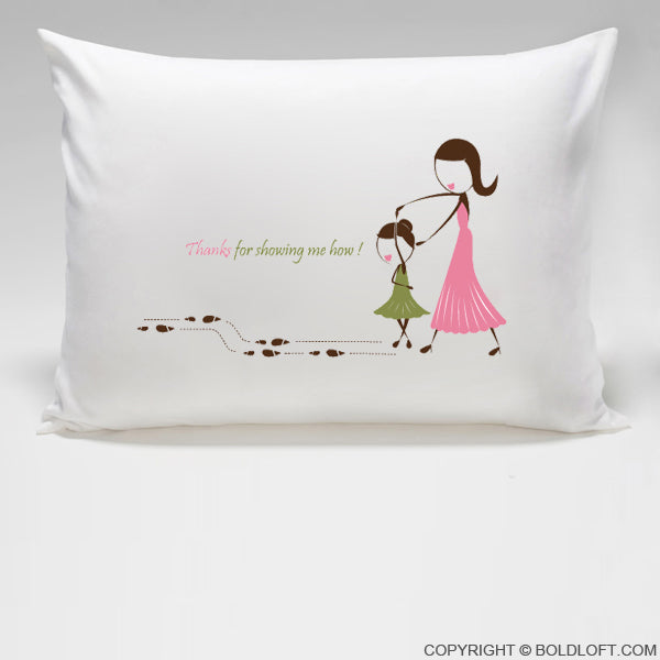 Mom Gifts - So Blessed to Have You™ Pillowcase