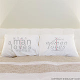 Together in Love™ Couple Pillowcases