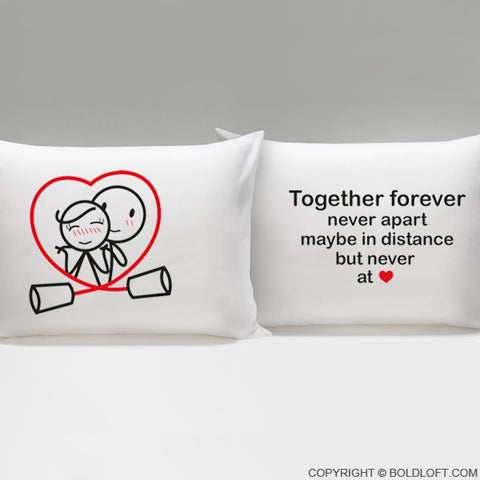 Together Forever™ Couple Pillowcases