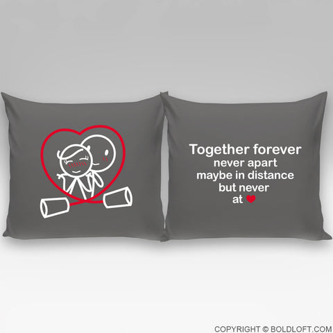 Together Forever™ Euro Pillow Cover Set