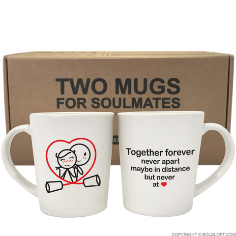 Together Forever™ Couple Coffee Mugs