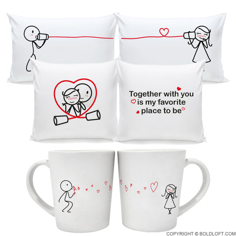 Together in Love™ Couple Gift Set Style II