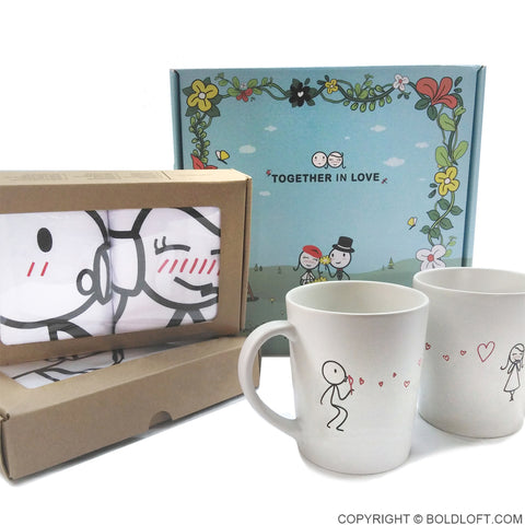 Together in Love™ Couple Gift Set II