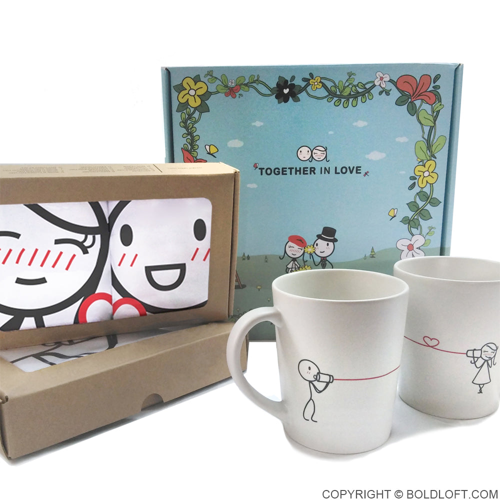 Together in Love™ Couple Gift Set III