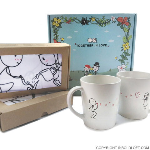 Together in Love™ Couple Gift Set V
