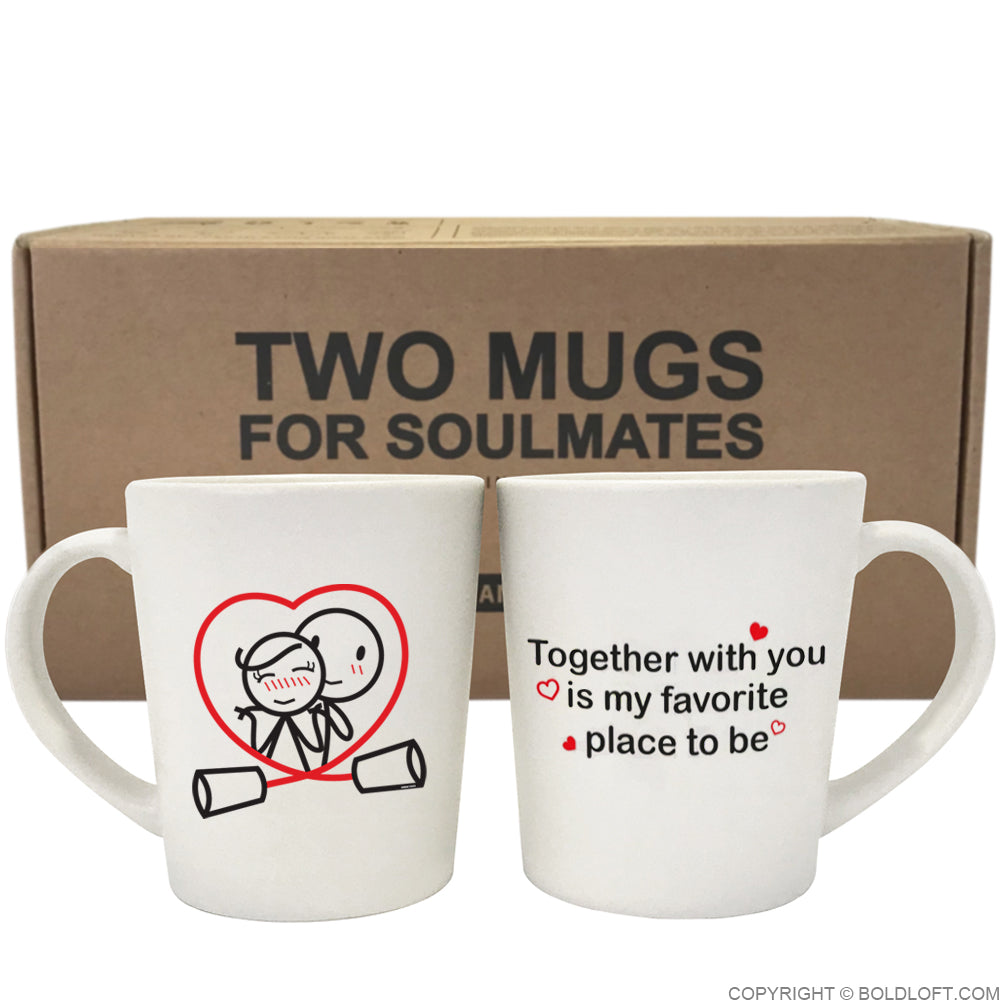 Together is My Favorite Place to Be™ Couple Mug Set
