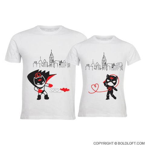 We're Irresistibly Attracted™ Couple T-Shirts