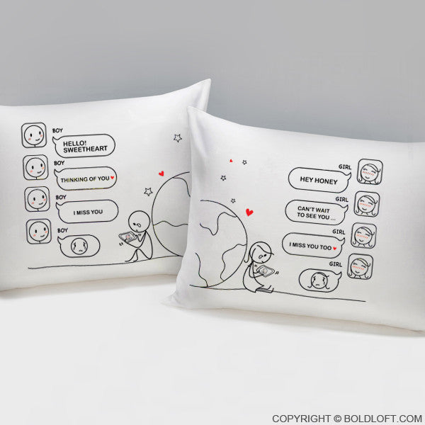 Wish You Were Here™ Pillowcases