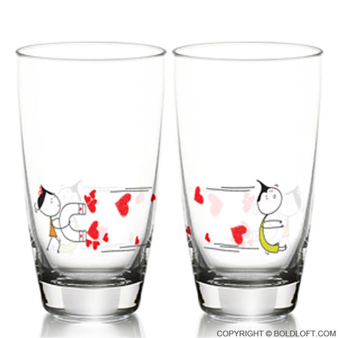You're Irresistible™ Drinking Glass Set