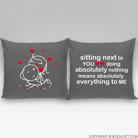 You Mean Everything to Me™ Euro Pillow Cover Set