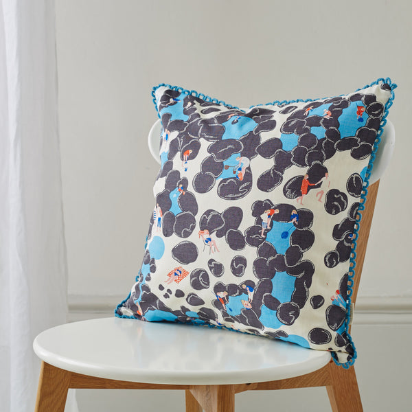 Unique and quirky colourful cushions handmade by talented artisans