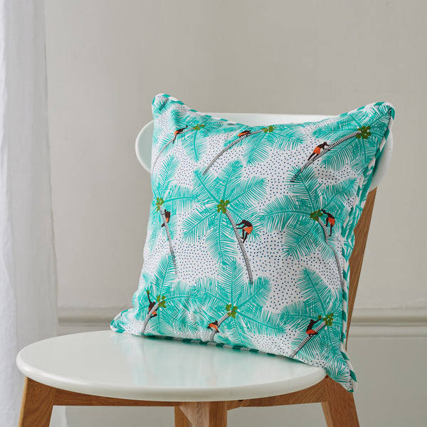 Coconut Palm Pickers cushion, Safomasi