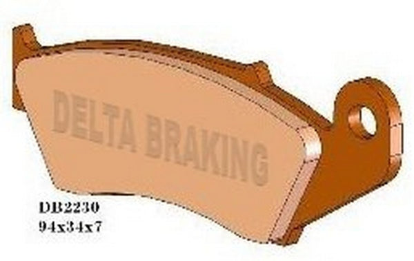 DELTA FRONT BRAKE PADS CRF 02-ON, YZF 01-06, KXF04-ON, RMZ 04-ON, BETA RR ALL YEARS