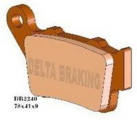 DELTA REAR BRAKE PADS KTM 125 UP ALL MODELS 99-03, SX250 99-02,