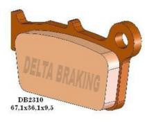 DELTA REAR BRAKE PADS YZ125/250 /YZF250-450 03 ON, KXF250/450 04 ON, RMZ250/450 04 ON, BETA RR ALL YEARS