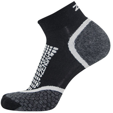 ZENSAH GRIT RUNNING SOCKS (ANKLE)