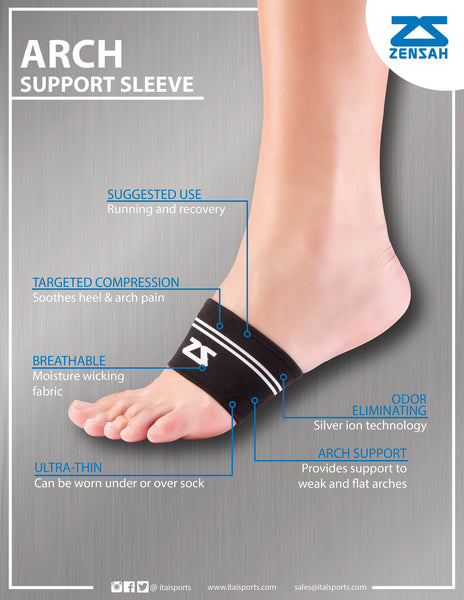 ZENSAH ARCH SUPPORT SLEEVES