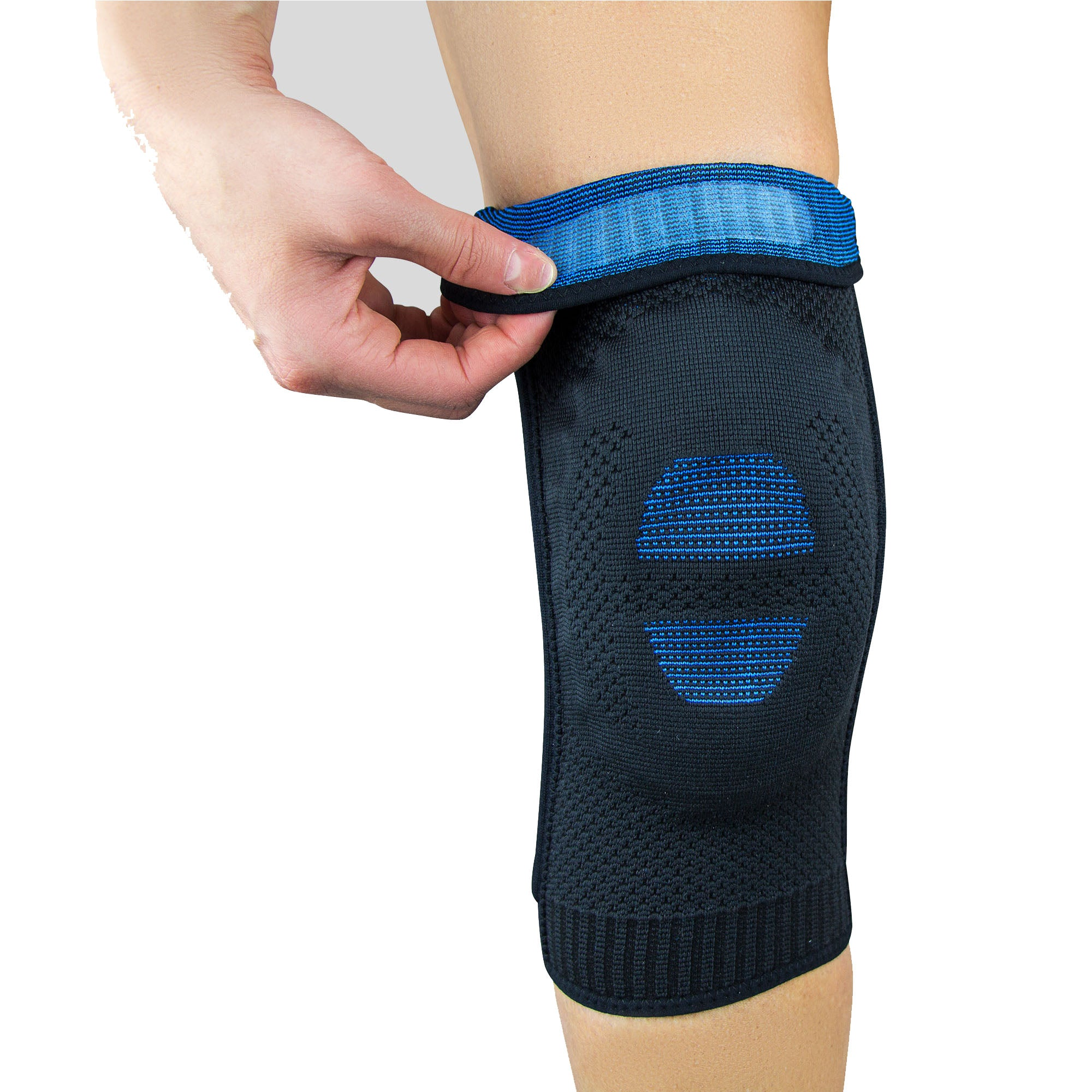 ZENSAH ELITE GEL COMPRESSION KNEE SLEEVES (PAIR)