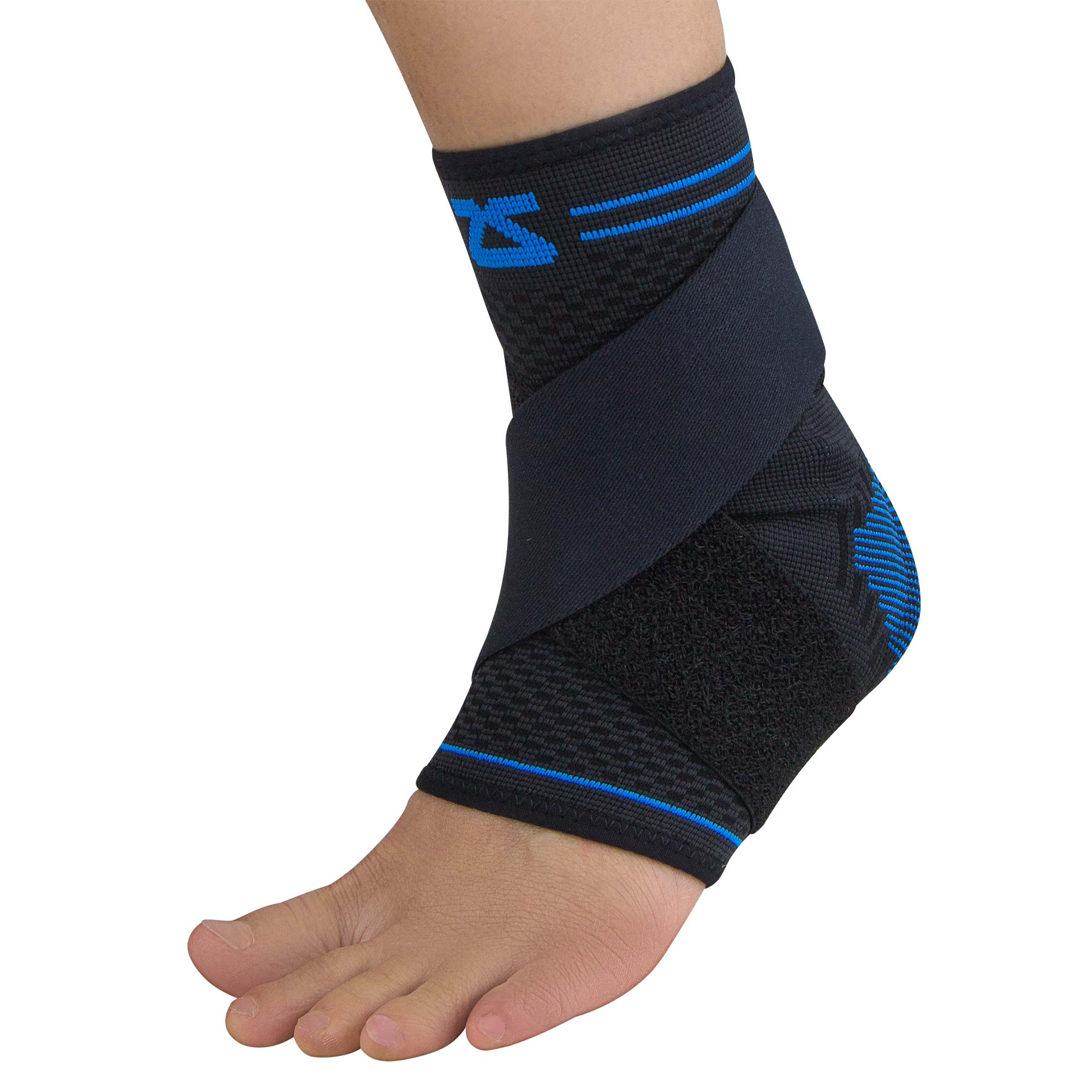 ZENSAH ELITE GEL COMPRESSION ANKLE SLEEVE