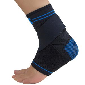 ZENSAH ELITE GEL COMPRESSION ANKLE SLEEVES (PAIR)