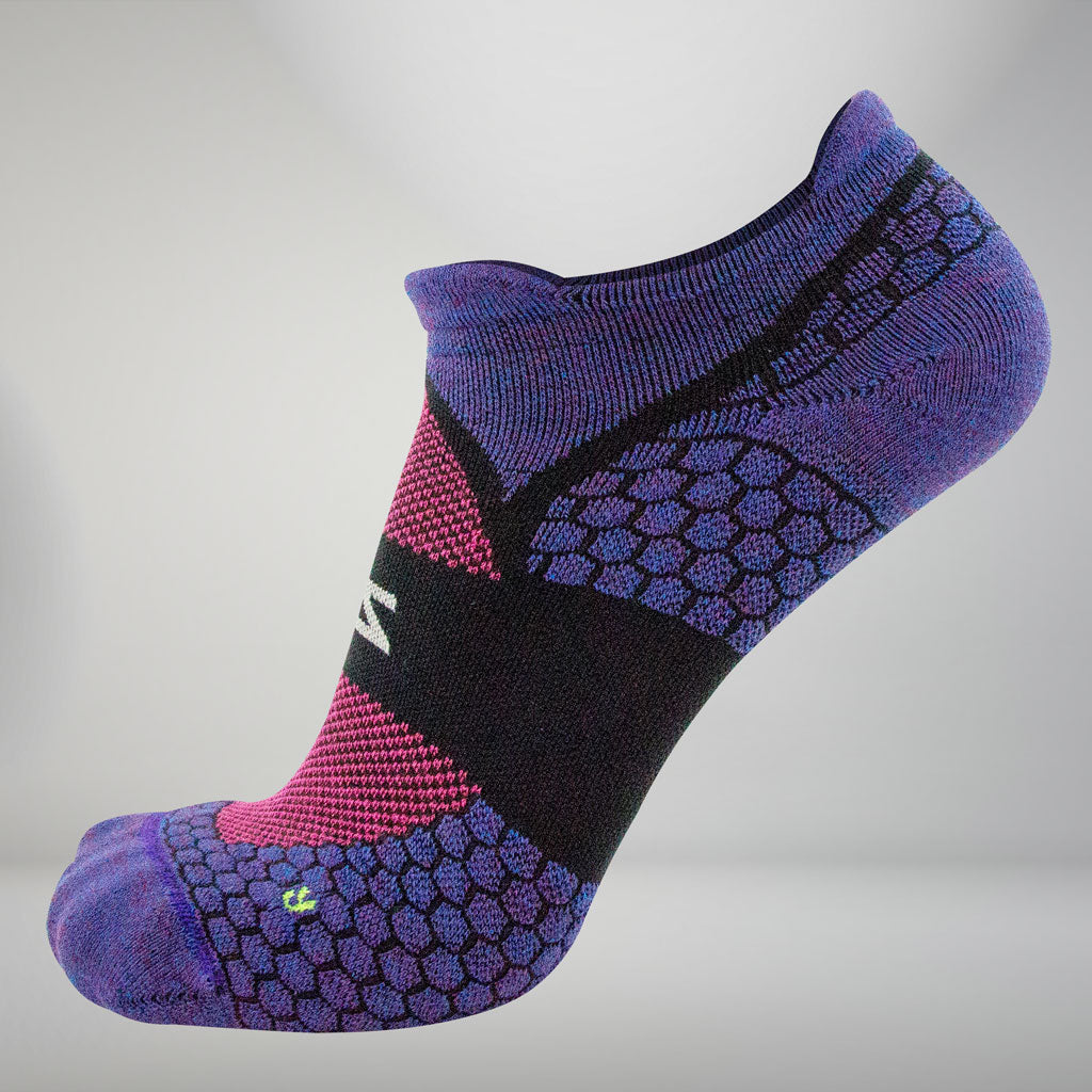 ZENSAH GRIT 2.0 RUNNING SOCKS (NO-SHOW)