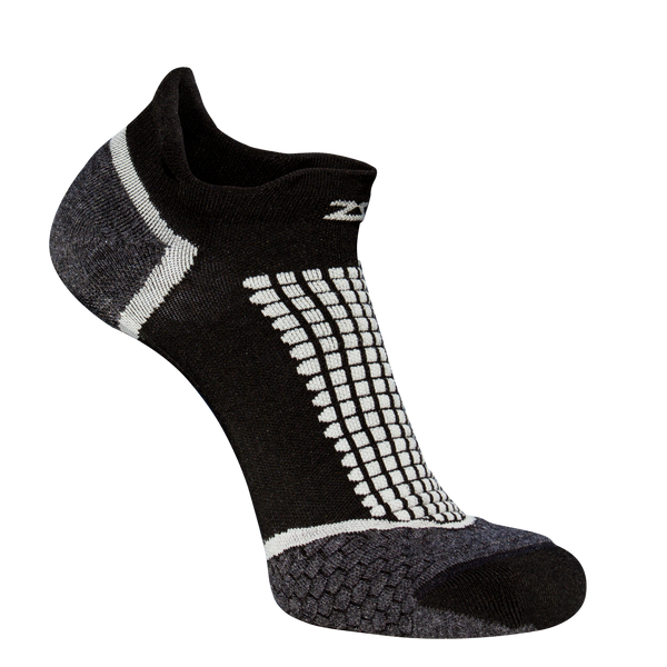 ZENSAH GRIT RUNNING SOCKS (NO-SHOW)