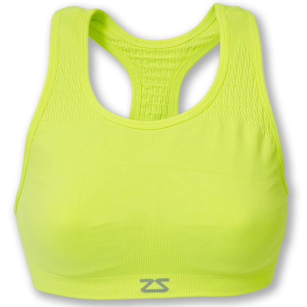 ZENSAH SEAMLESS RUNNING SPORTS BRA