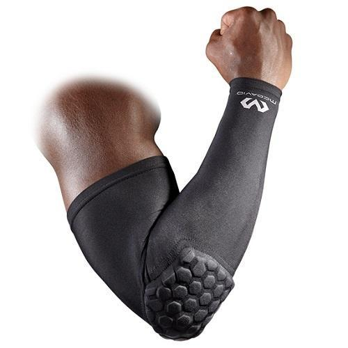 McDavid 6500 Hex Shooter Arm Sleeve Single - Black