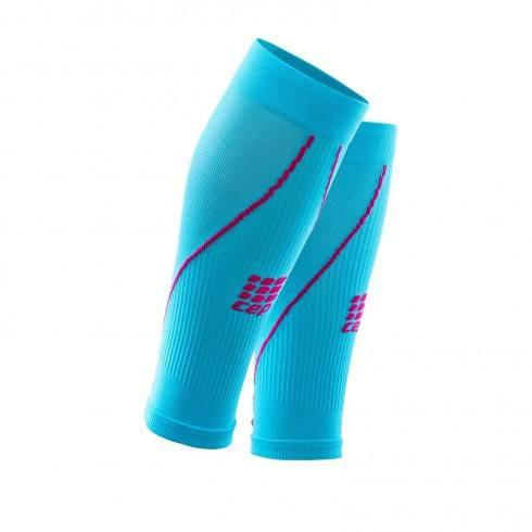 CEP Compression Calf Sleeves 2.0 Women - Hawaii Blue - GoSport Online