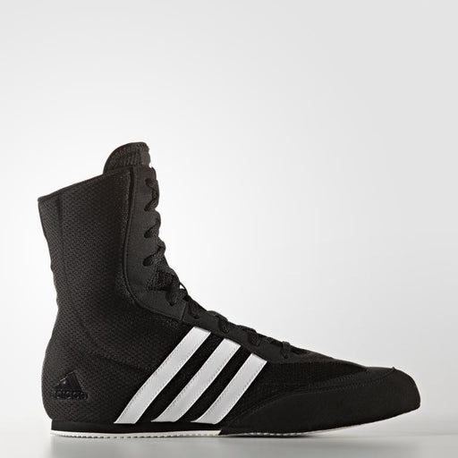 adidas Box Hog Low-Cut Boxing Shoes - Black/White