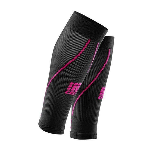 CEP Compression Calf Sleeves 2.0 Women - Black/Pink - GoSport Online