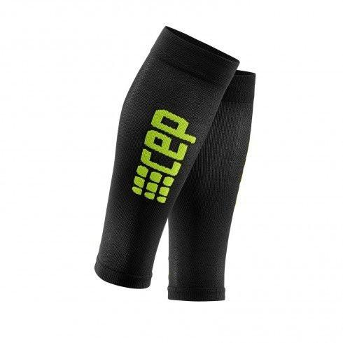 CEP Ultralight Compression Calf Sleeves Women - Black/Green - GoSport Online