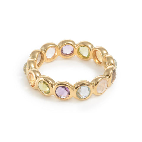 Vermeil Multi stone ring