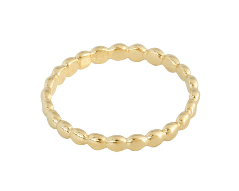 Vermeil Stacking Ring or Single Band