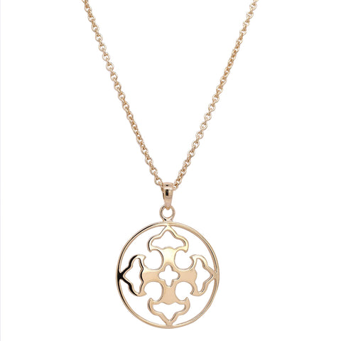 Gold Vermeil Filigree Pendant (NEW)