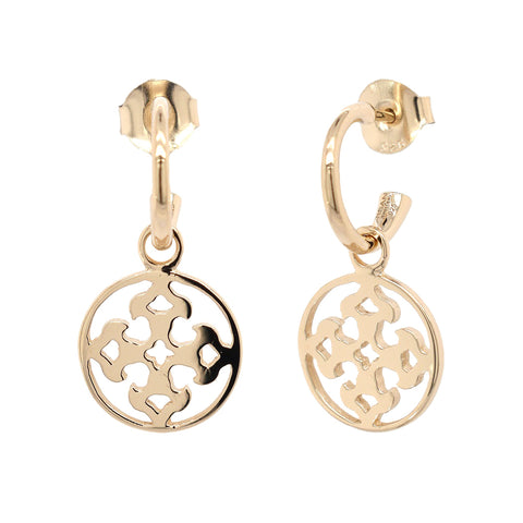 Gold Vermeil Filigree Drop Earrings (NEW)