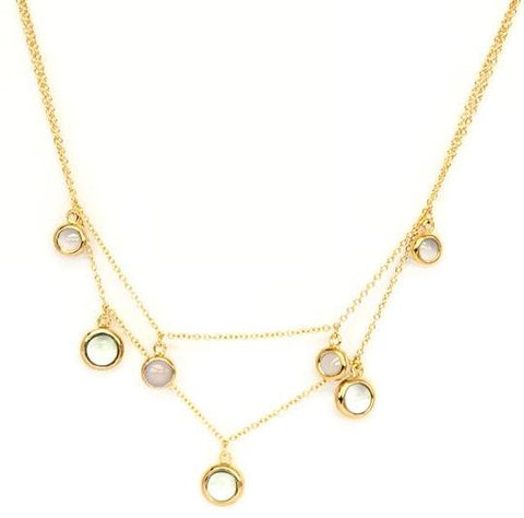 Vermeil Double Chain Necklace