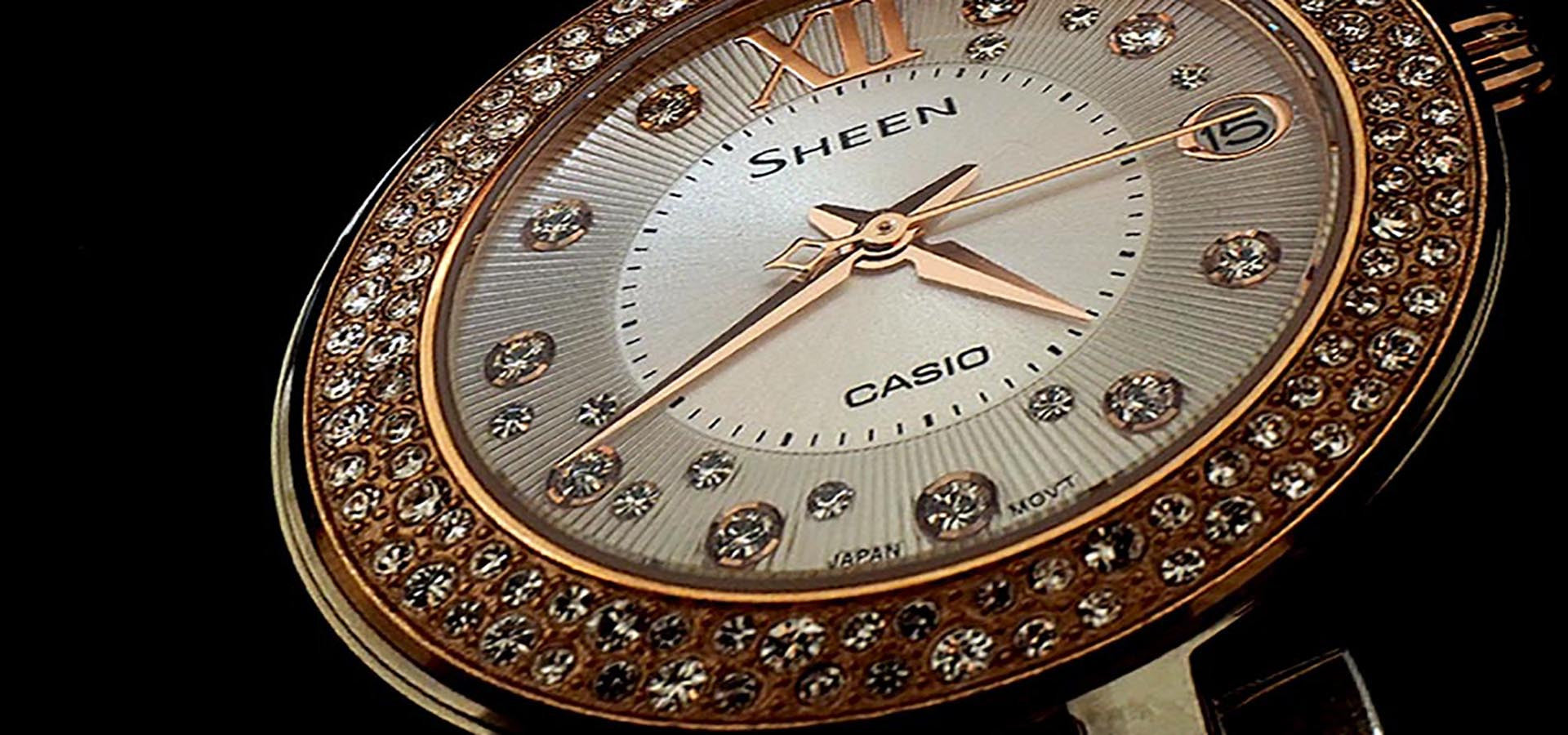 Casio Sheen Womens Watch