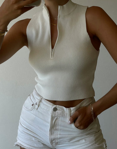 BROOKLYN KNIT CROP