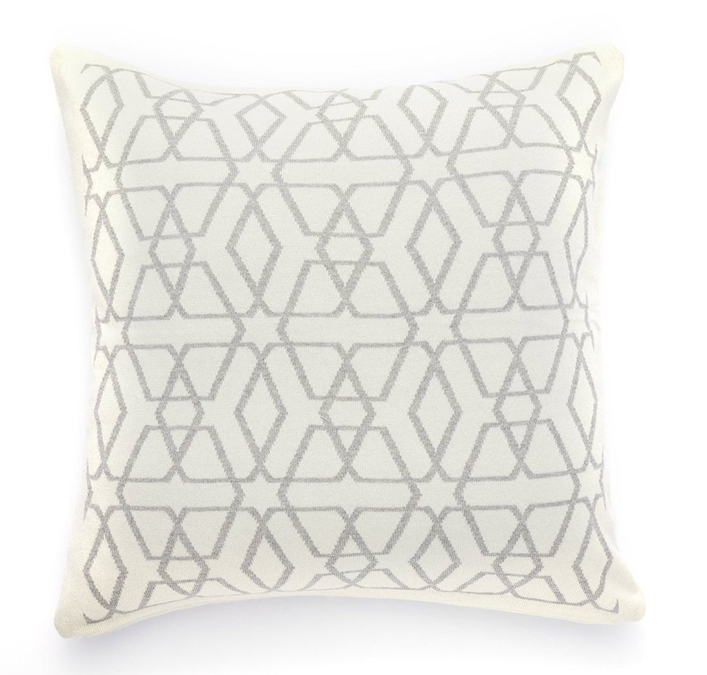 Pure Cotton Knitted Pillow, Navigating by Stars